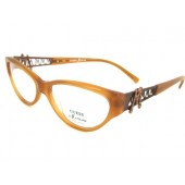 Ladies Guess by Maciano Designer Optical Glasses Frames, complete with case, GM 136 Amber