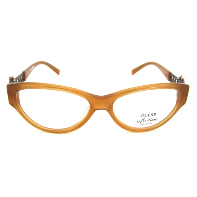 designer optical frames ewq2  Ladies Guess by Maciano Designer Optical Glasses Frames, complete with  case, GM 136 Amber