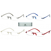 Memo flex optical reading glasses - Aspheric lenses including case